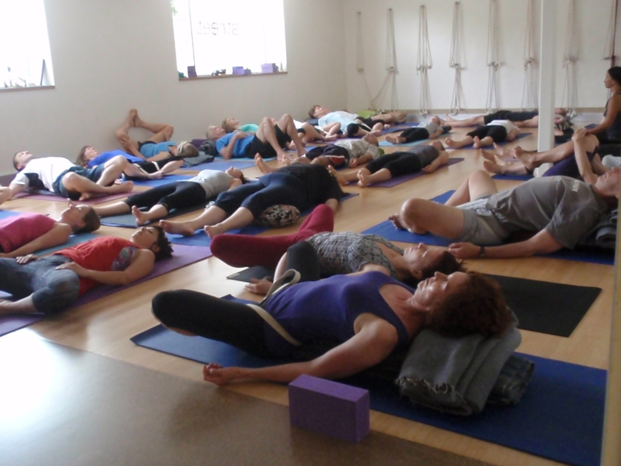 New Year's Day at Johnny's Holiday Yoga